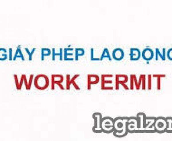 Hồ sơ xin miễn giấy phép lao động